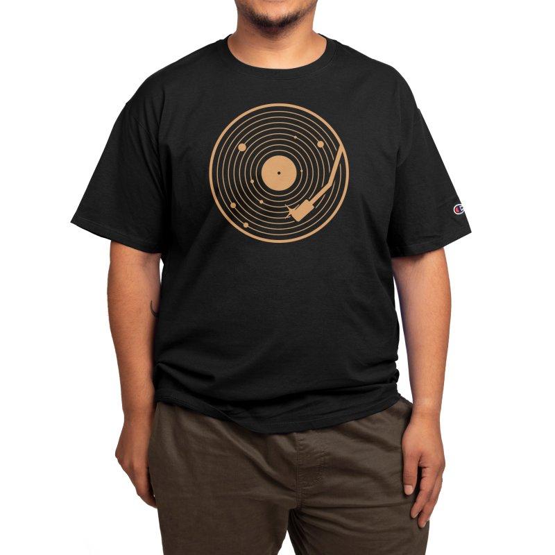 The Vinyl System Men's T-Shirt by Threadless Artist Shop