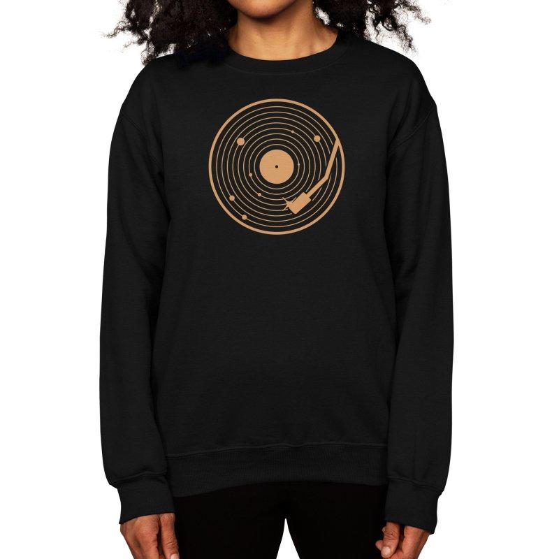 The Vinyl System Women's Sweatshirt by Threadless Artist Shop
