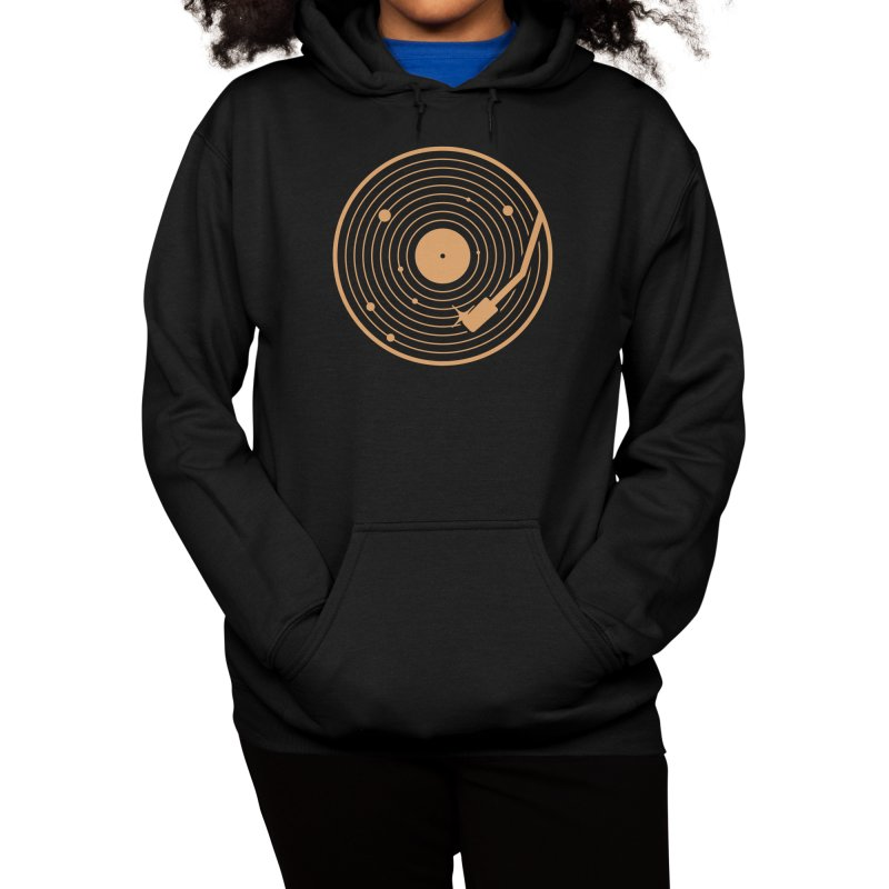 The Vinyl System Women's Pullover Hoody by Threadless Artist Shop