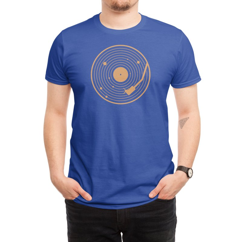 The Vinyl System Men's T-Shirt by Threadless Artist Shop