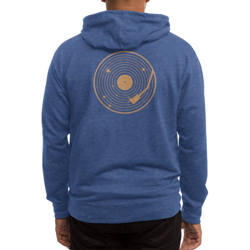 The Vinyl System Men's Zip-Up Hoody by Threadless Artist Shop
