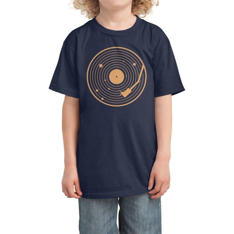 The Vinyl System Kids T-Shirt by Threadless Artist Shop
