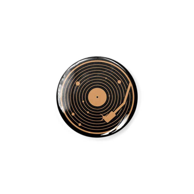 The Vinyl System Accessories Button by Threadless Artist Shop