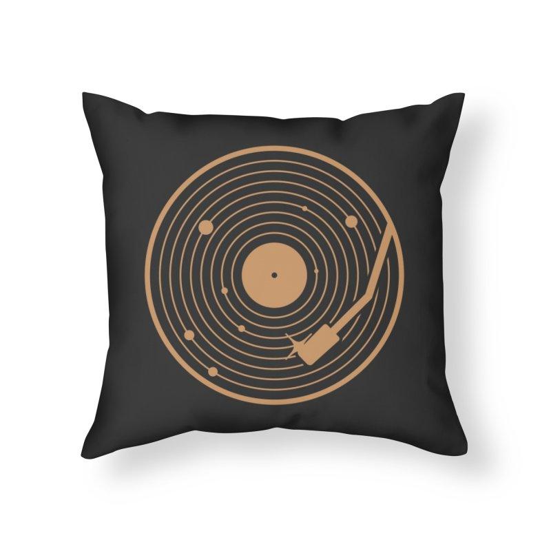 The Vinyl System Home Throw Pillow by Threadless Artist Shop