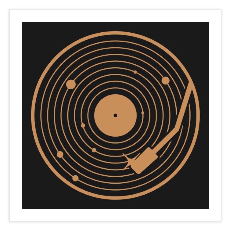The Vinyl System Home Fine Art Print by Threadless Artist Shop
