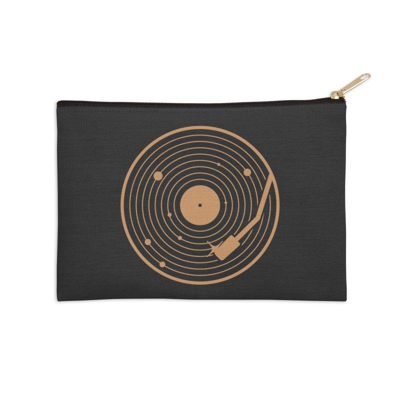 The Vinyl System Accessories Zip Pouch by Threadless Artist Shop