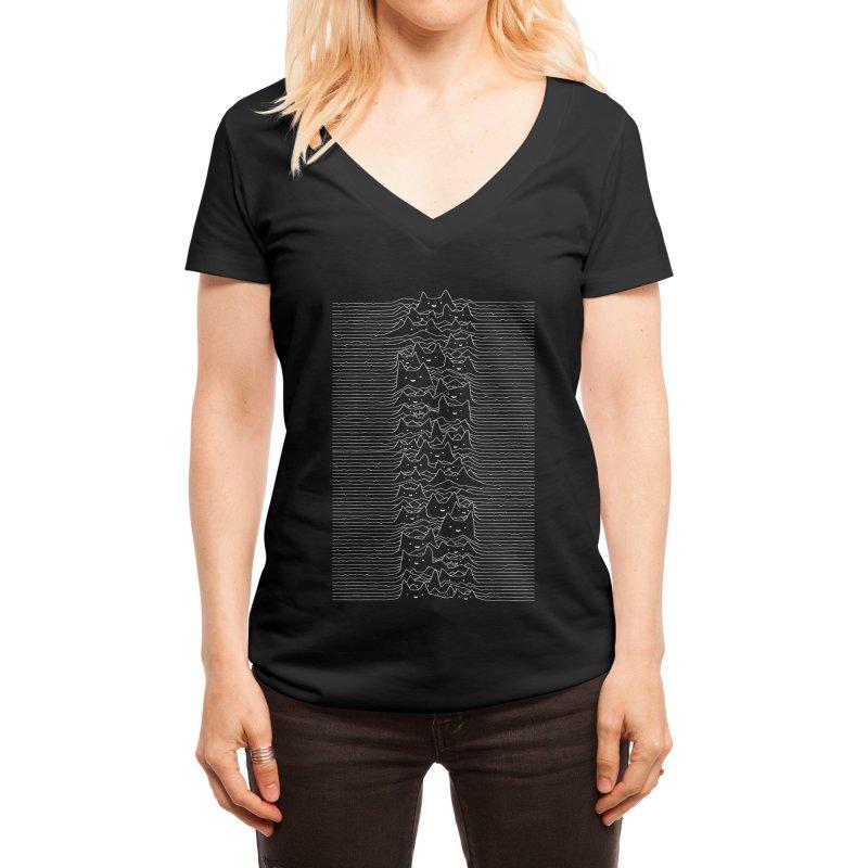 Furr Division Women's V-Neck by Threadless Artist Shop