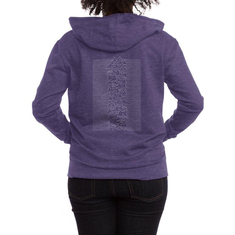 Furr Division Women's Zip-Up Hoody by Threadless Artist Shop