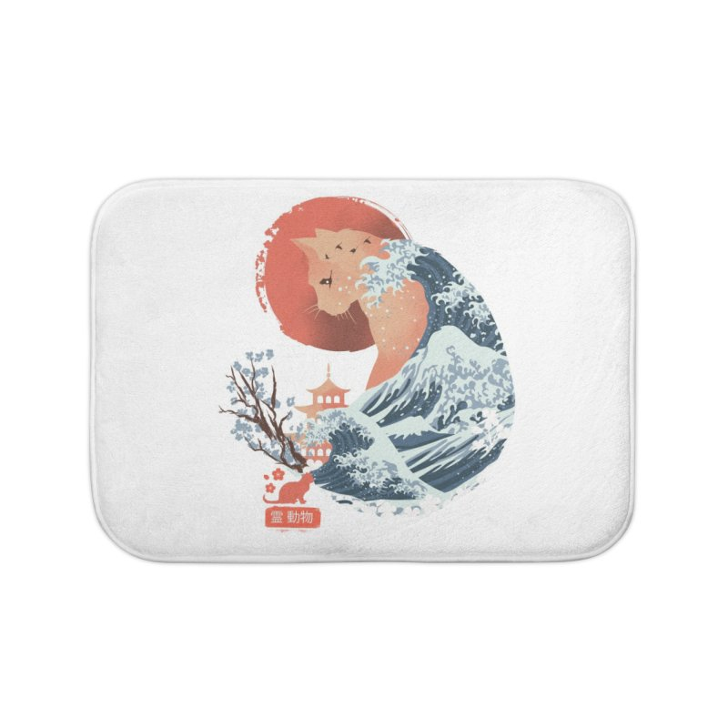Spirit Animal Cat Home Bath Mat by Threadless Artist Shop