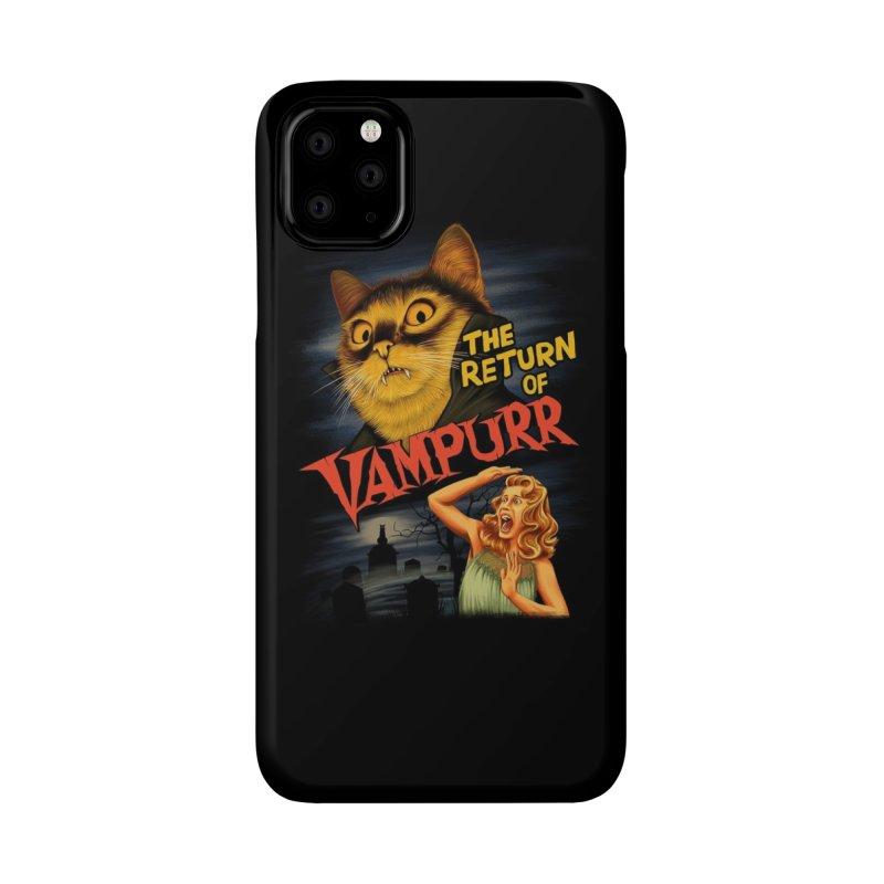 The Return of Vampurr Accessories Phone Case by Threadless Artist Shop