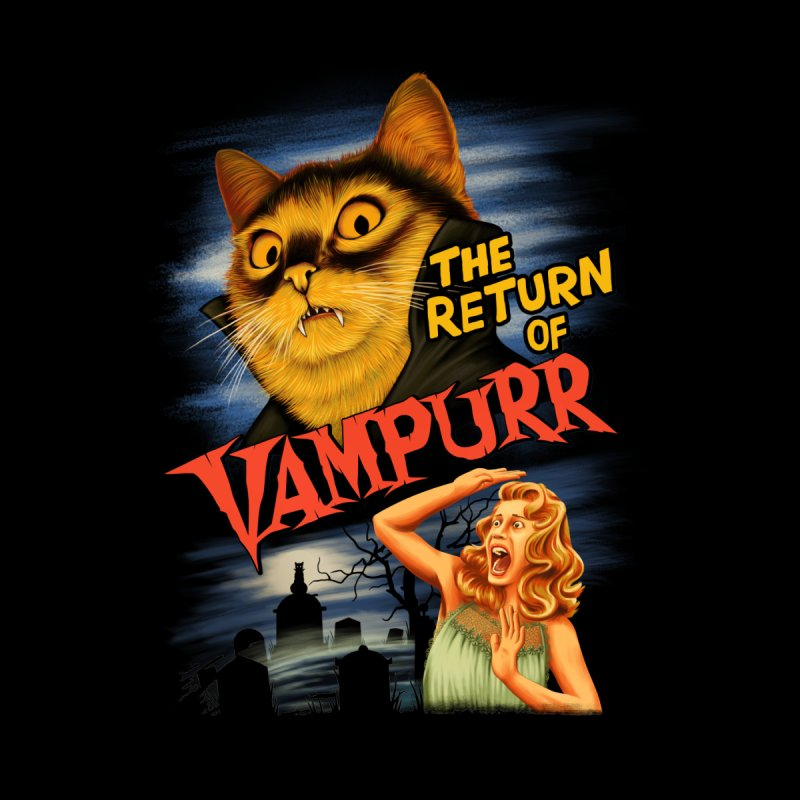 The Return of Vampurr Men's T-Shirt by Threadless Artist Shop