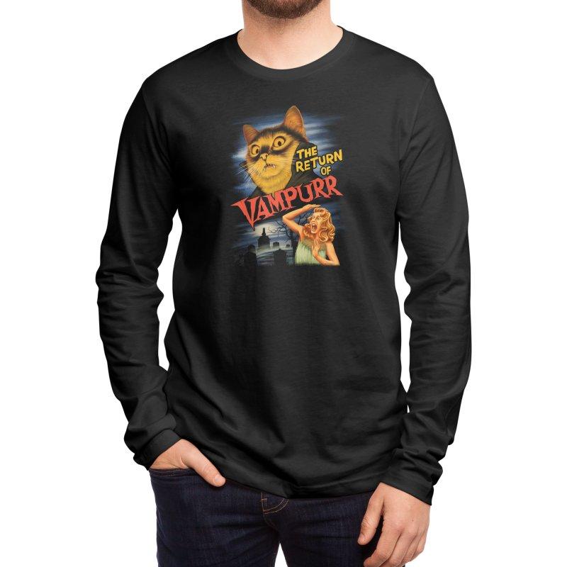 The Return of Vampurr Men's Longsleeve T-Shirt by Threadless Artist Shop