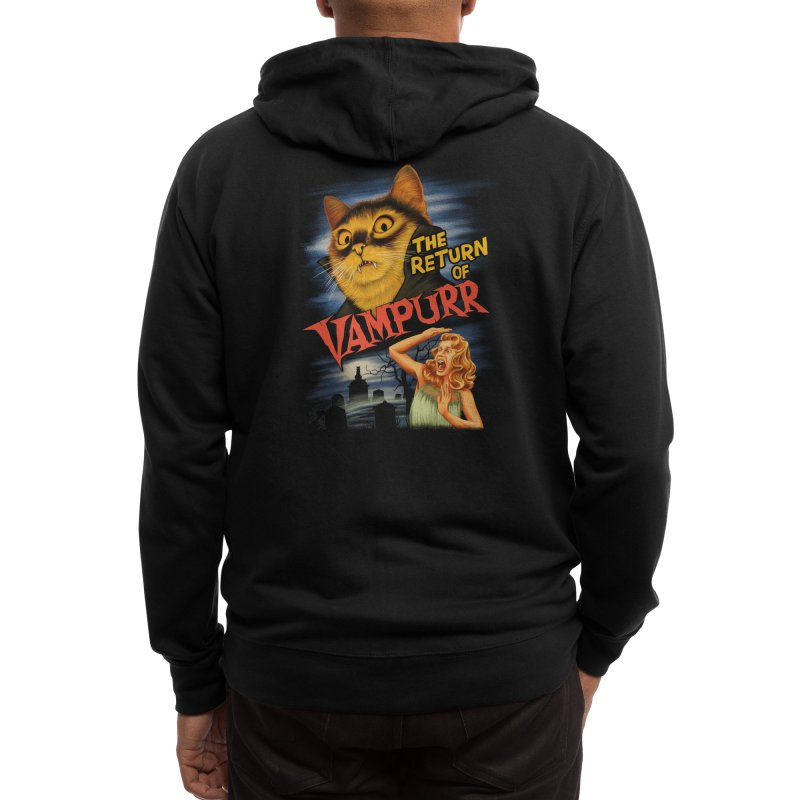 The Return of Vampurr Men's Zip-Up Hoody by Threadless Artist Shop