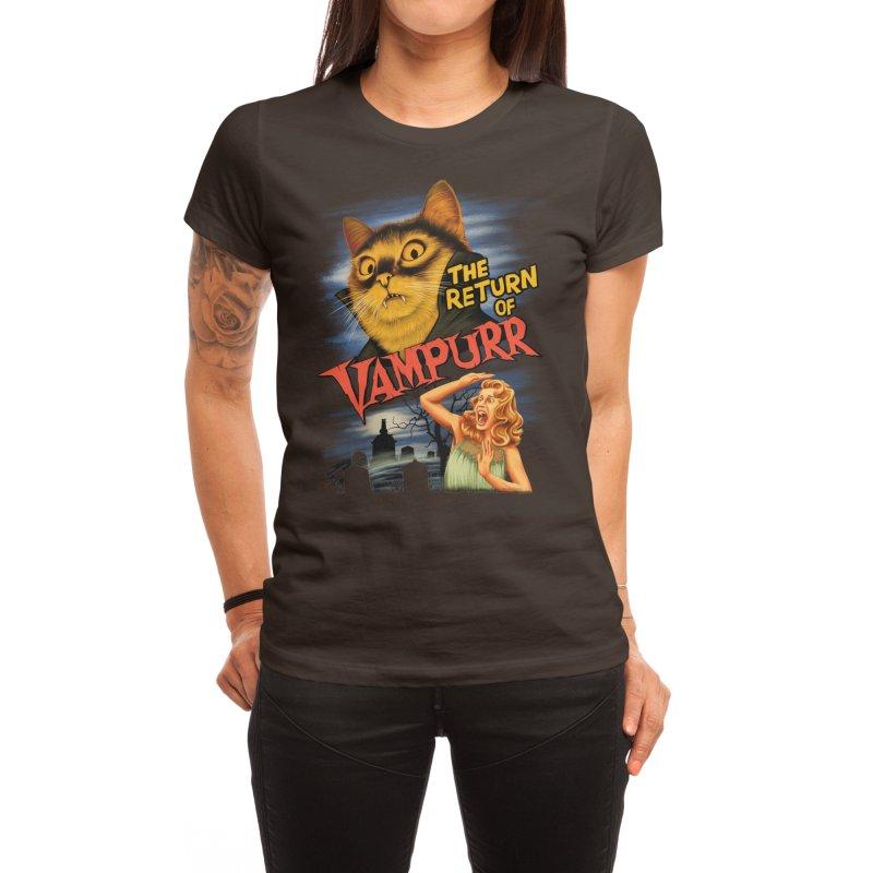The Return of Vampurr Women's T-Shirt by Threadless Artist Shop