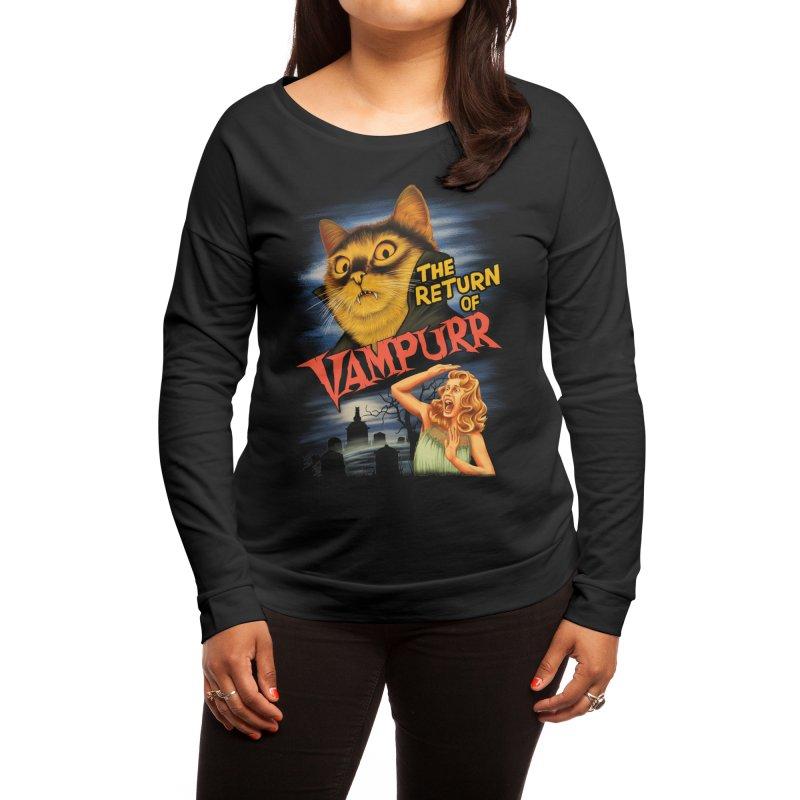 The Return of Vampurr Women's Longsleeve T-Shirt by Threadless Artist Shop
