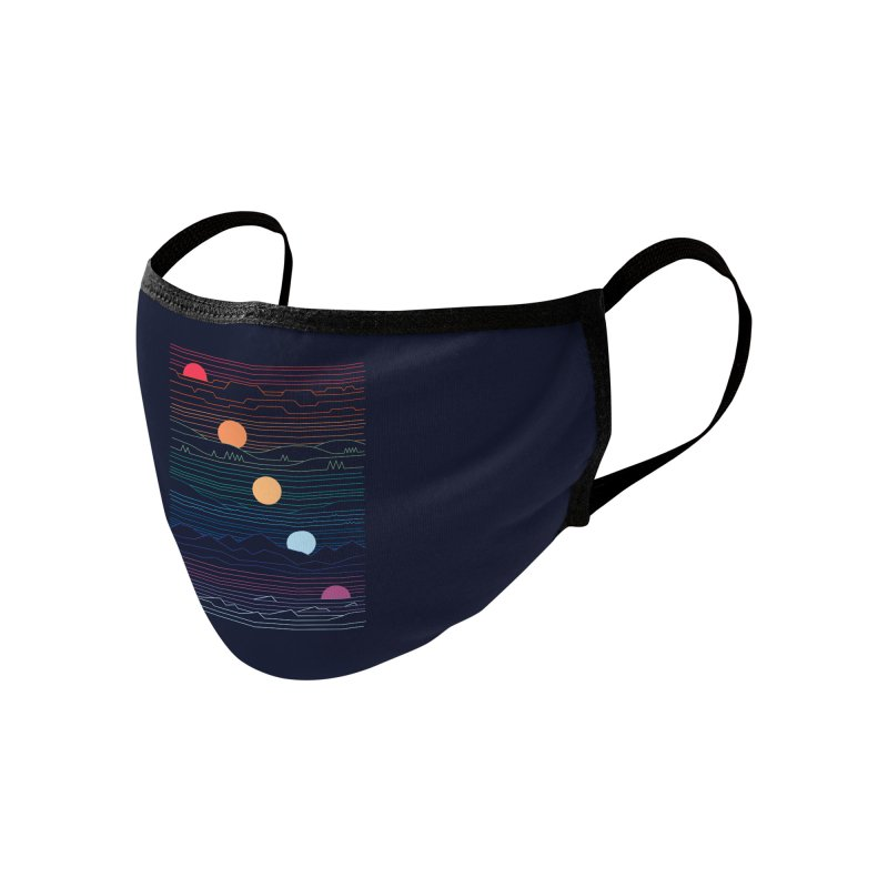 Many Lands Under One Sun Accessories Face Mask by Threadless Artist Shop
