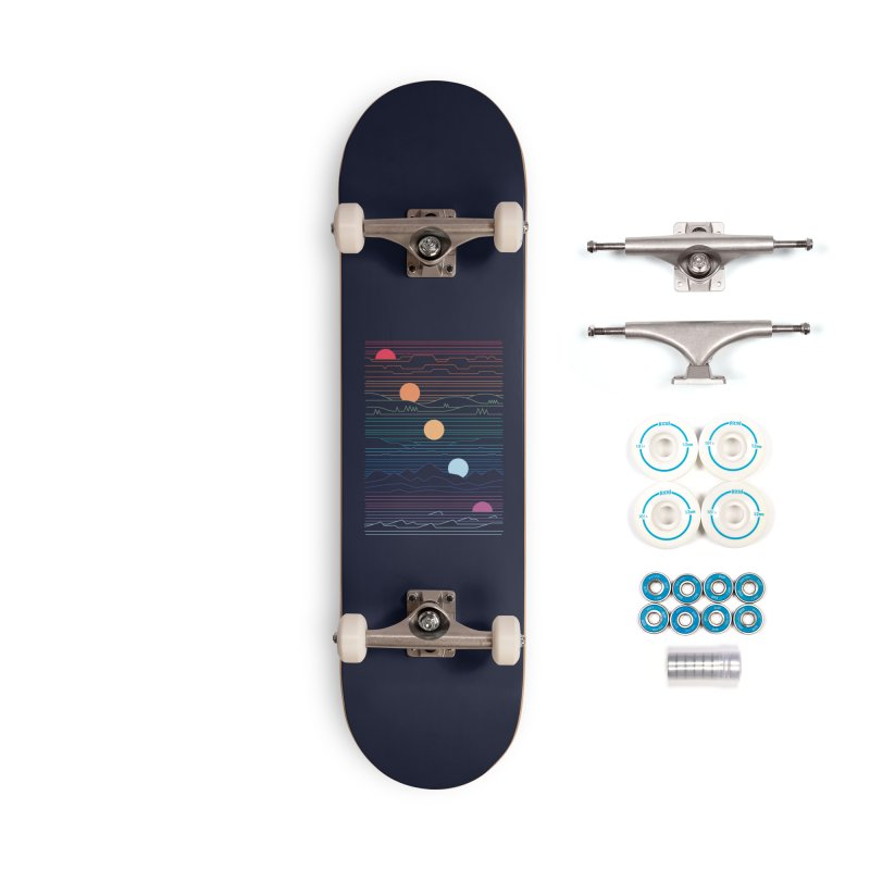 Many Lands Under One Sun Accessories Skateboard by Threadless Artist Shop