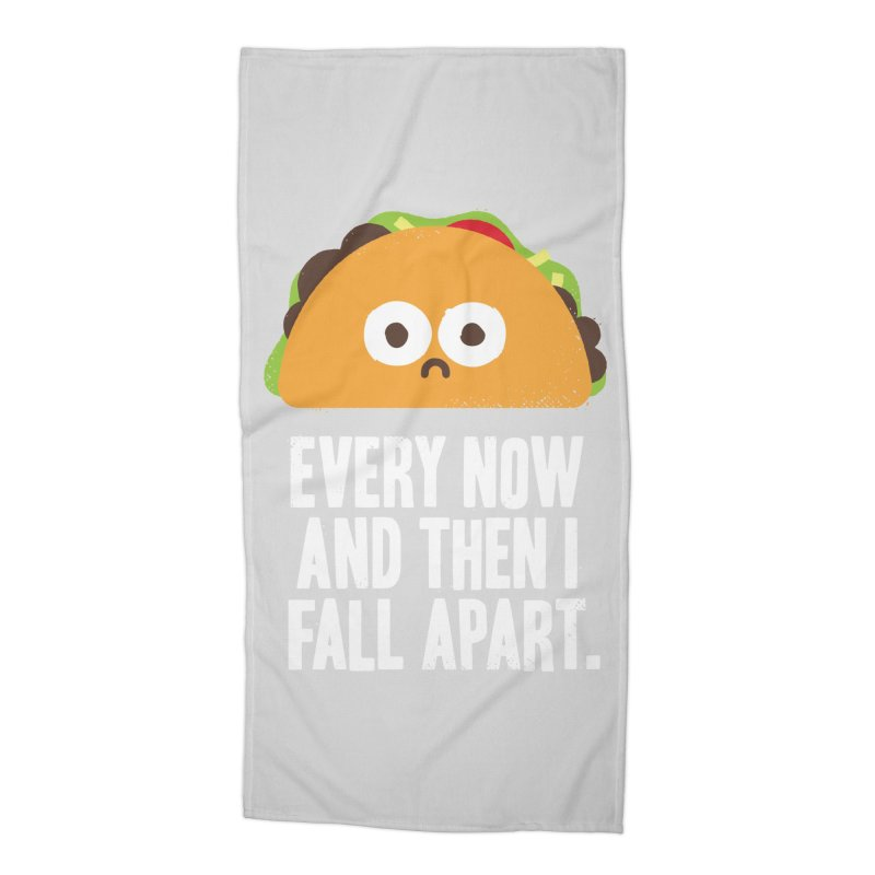 Taco Eclipse of the Heart Accessories Beach Towel by Threadless Artist Shop