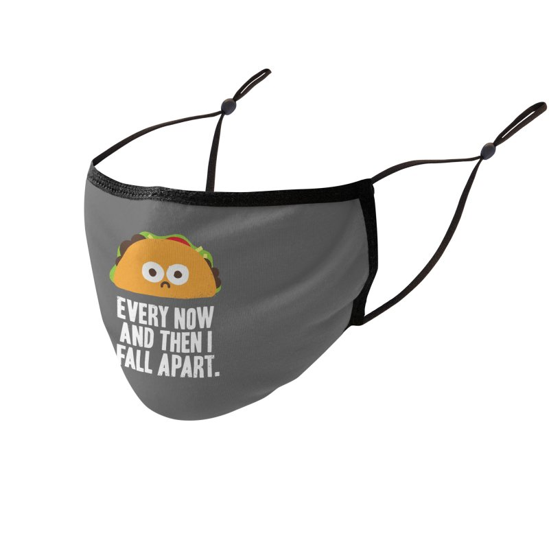 Taco Eclipse of the Heart Accessories Face Mask by Threadless Artist Shop
