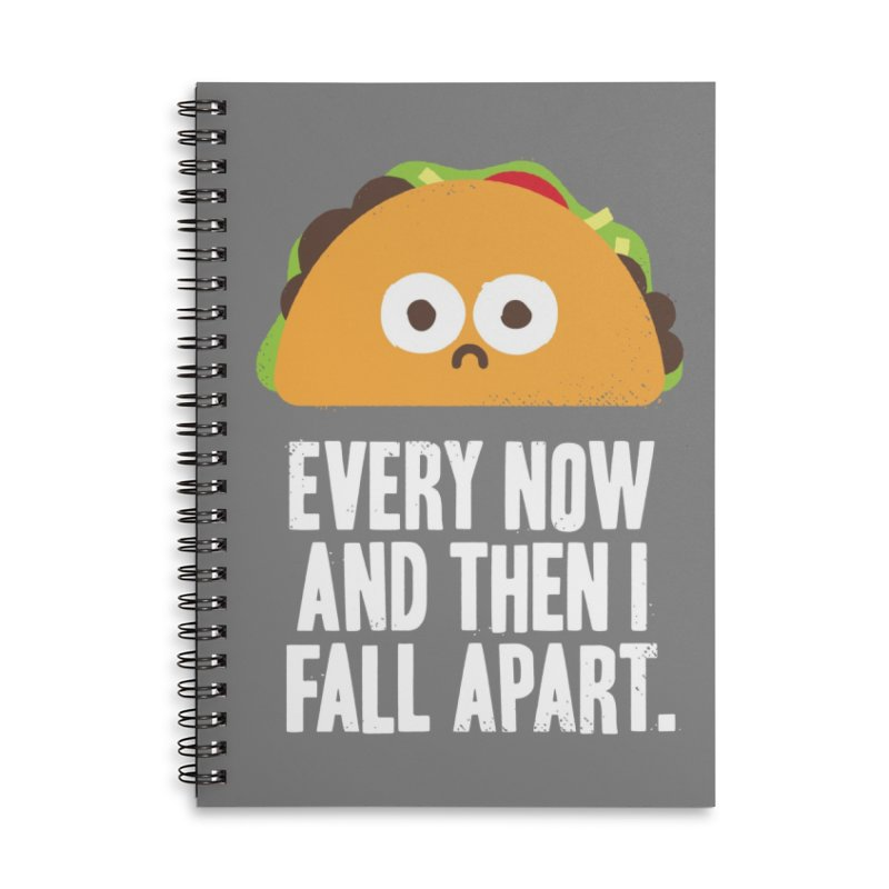 Taco Eclipse of the Heart Accessories Notebook by Threadless Artist Shop