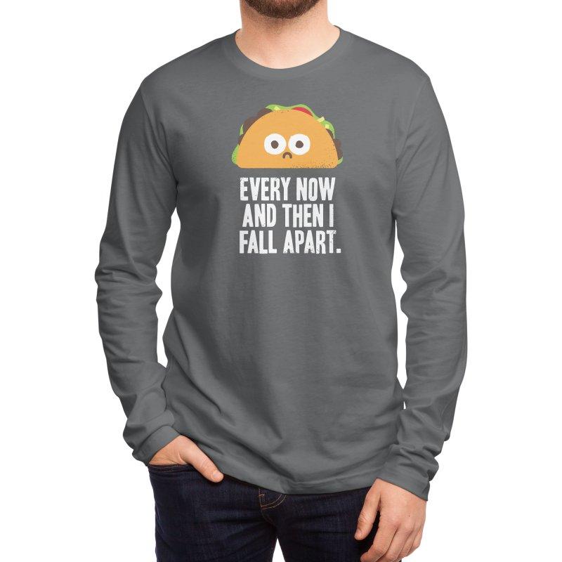 Taco Eclipse of the Heart Men's Longsleeve T-Shirt by Threadless Artist Shop
