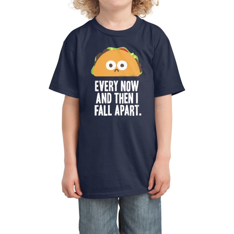 Taco Eclipse of the Heart Kids T-Shirt by Threadless Artist Shop