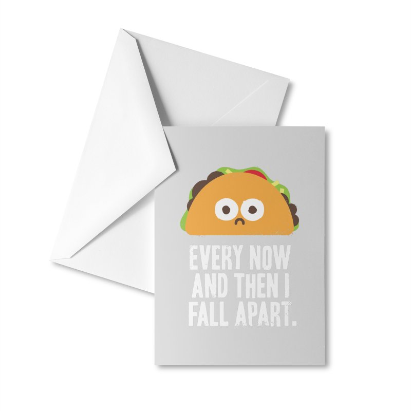 Taco Eclipse of the Heart Accessories Greeting Card by Threadless Artist Shop