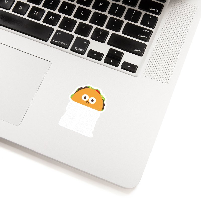 Taco Eclipse of the Heart Accessories Sticker by Threadless Artist Shop