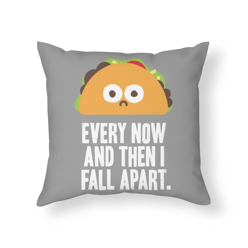 Taco Eclipse of the Heart Home Throw Pillow by Threadless Artist Shop