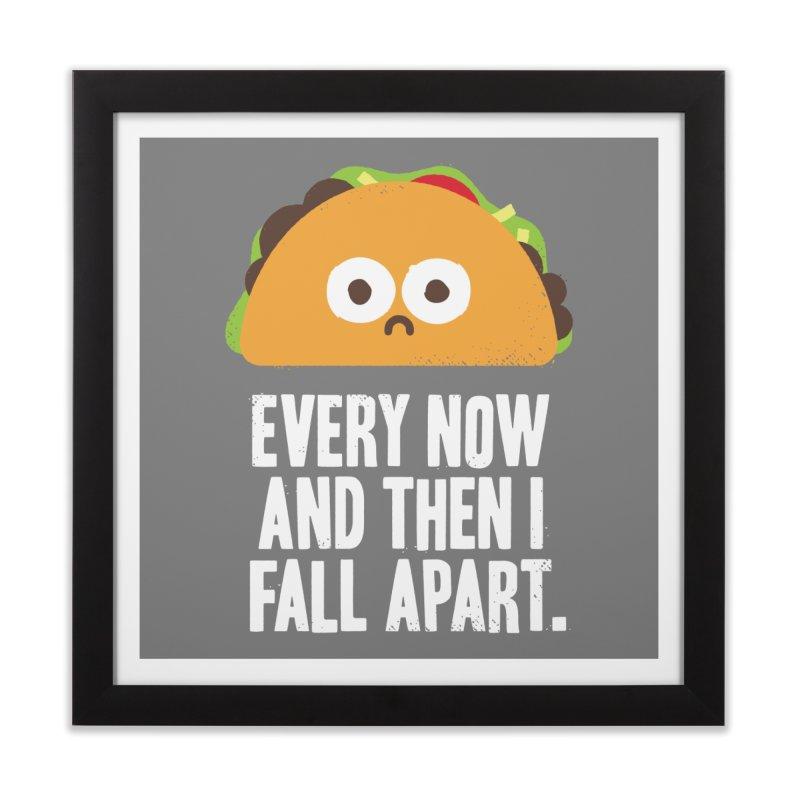 Taco Eclipse of the Heart Home Framed Fine Art Print by Threadless Artist Shop
