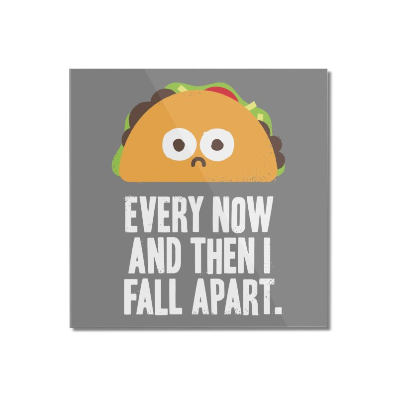 Taco Eclipse of the Heart Home Mounted Acrylic Print by Threadless Artist Shop