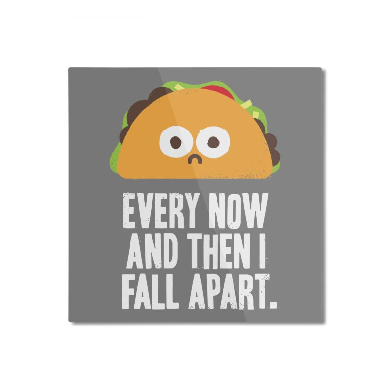 Taco Eclipse of the Heart Home Mounted Aluminum Print by Threadless Artist Shop