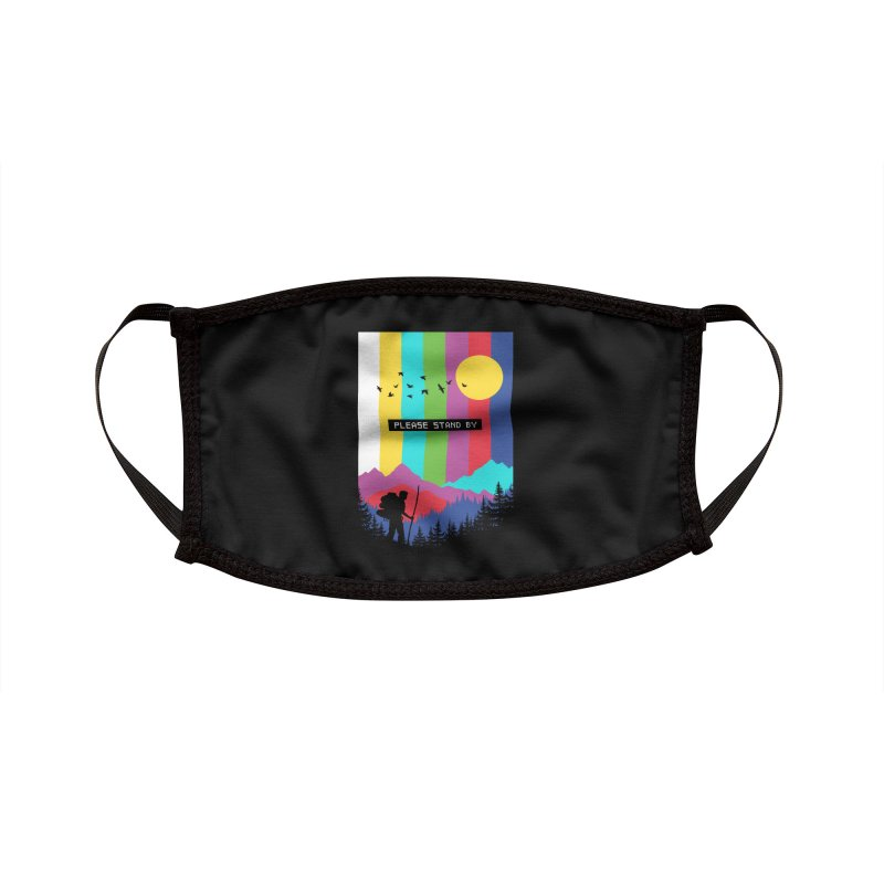Life in technicolor Accessories Face Mask by Threadless Artist Shop