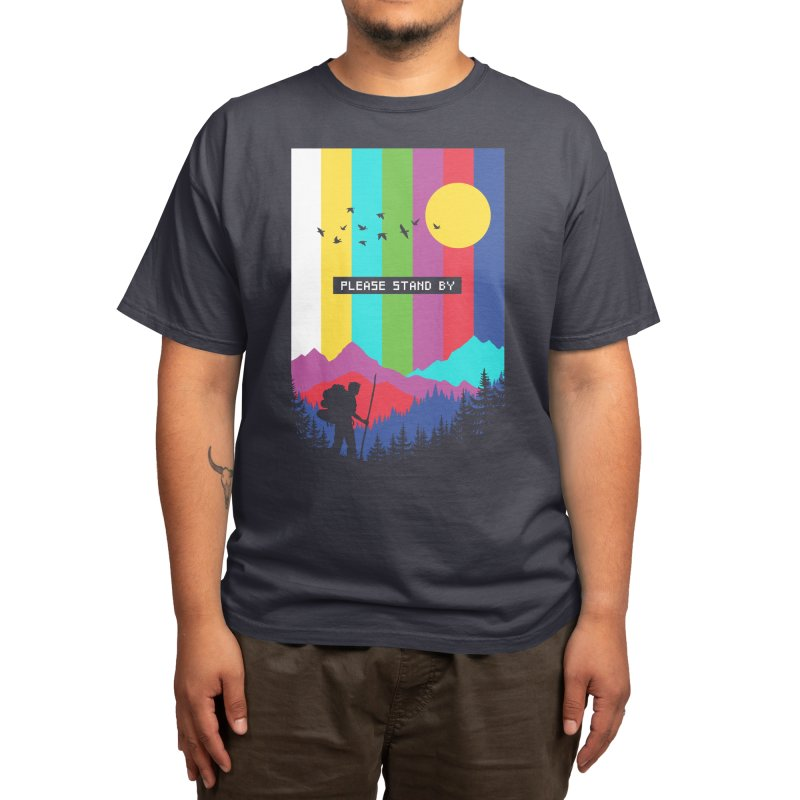 Life in technicolor Men's T-Shirt by Threadless Artist Shop