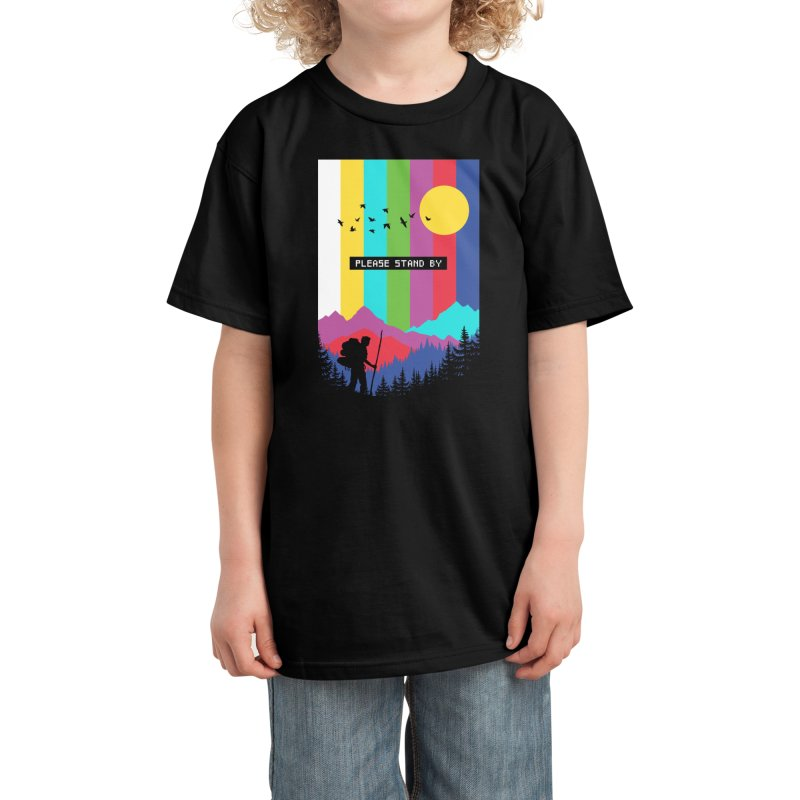 Life in technicolor Kids T-Shirt by Threadless Artist Shop