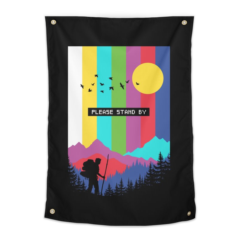 Life in technicolor Home Tapestry by Threadless Artist Shop