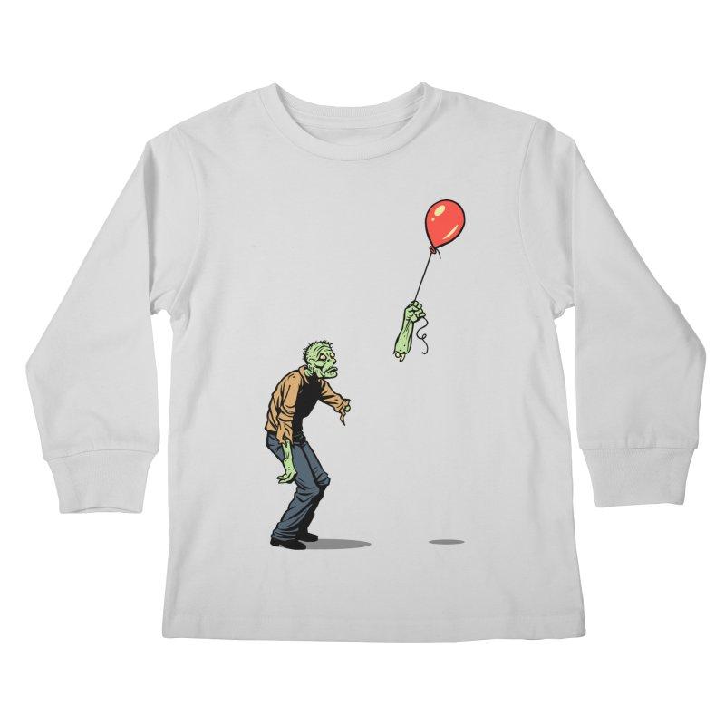 Happiness is Fleeting Kids Longsleeve T-Shirt by Threadless Artist Shop