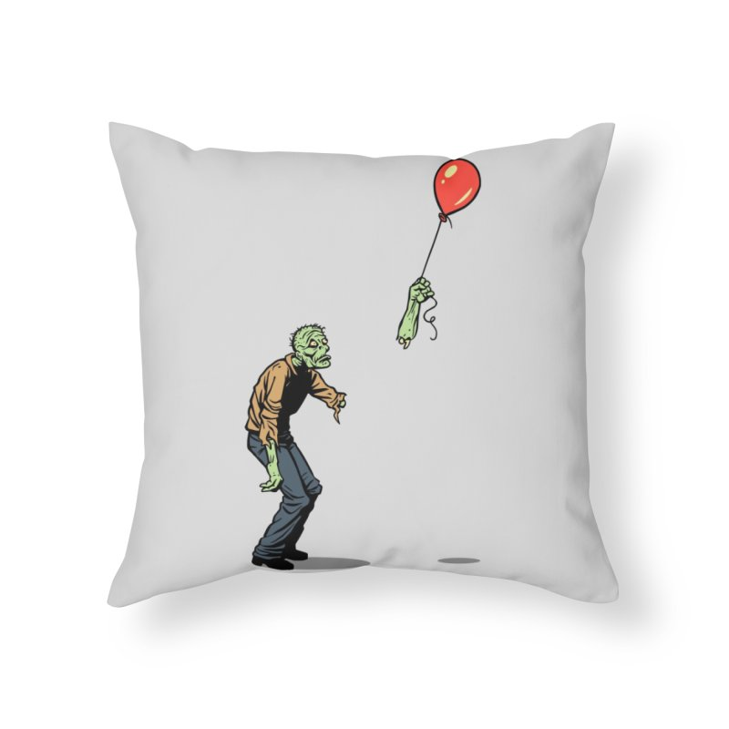 Happiness is Fleeting Home Throw Pillow by Threadless Artist Shop
