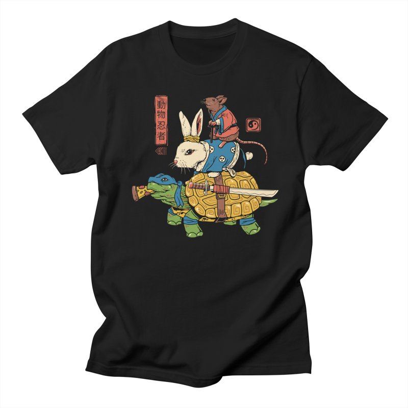 Kame, Usagi and Ratto Ninjas Women's T-Shirt by Threadless Artist Shop
