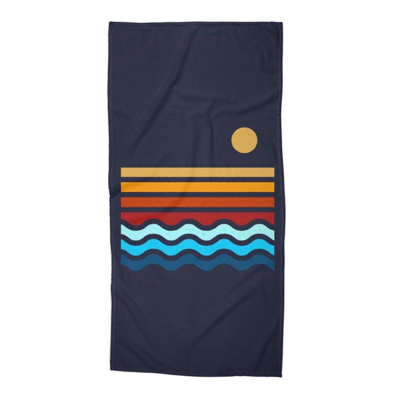 Beach Stack Accessories Beach Towel by Threadless Artist Shop
