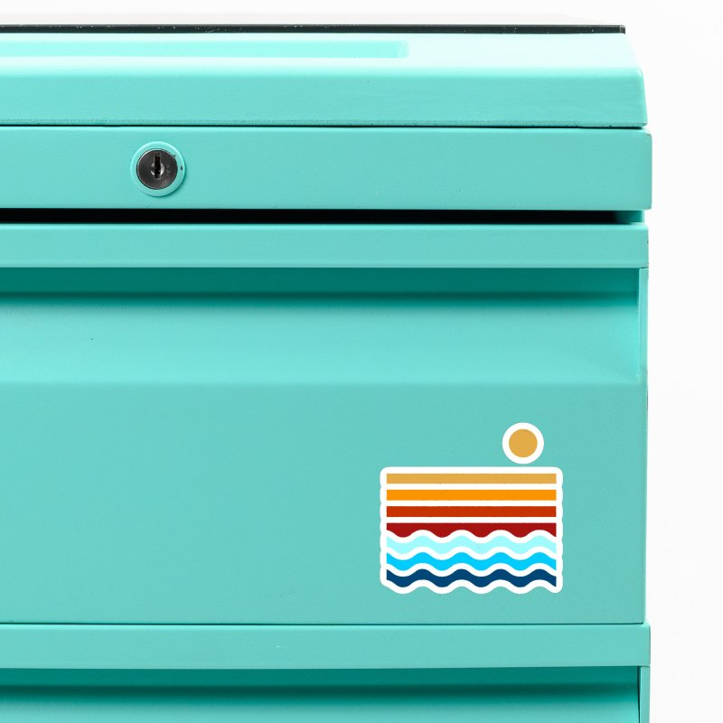 Beach Stack Accessories Magnet by Threadless Artist Shop