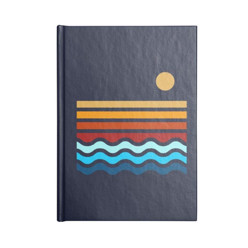 Beach Stack Accessories Notebook by Threadless Artist Shop