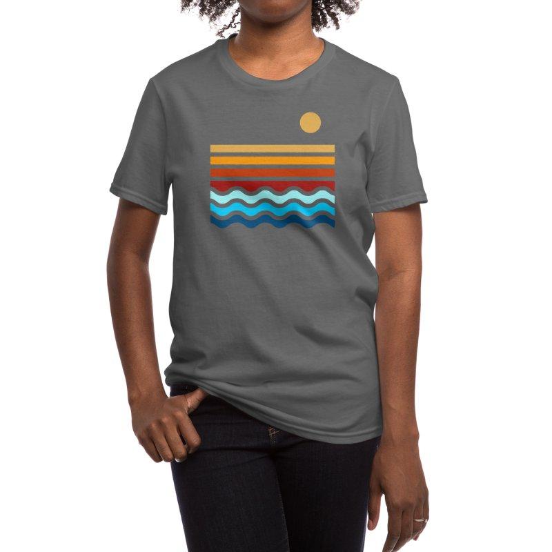 Beach Stack Women's T-Shirt by Threadless Artist Shop