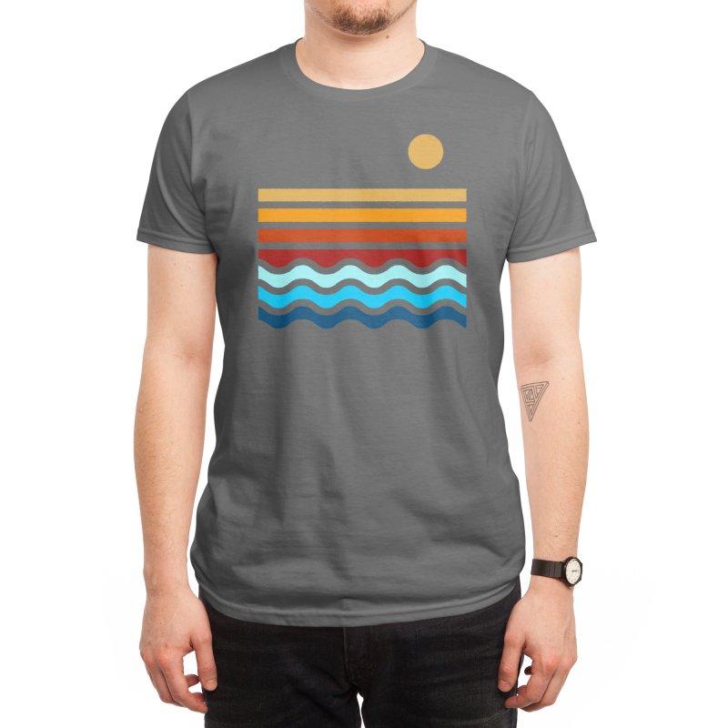 Beach Stack Men's T-Shirt by Threadless Artist Shop