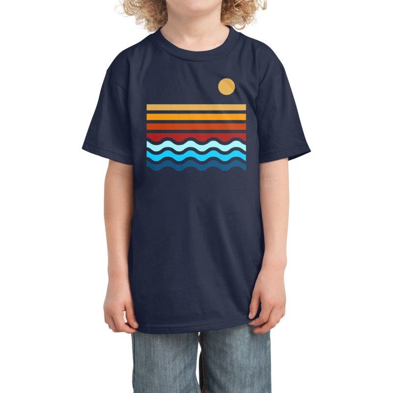 Beach Stack Kids T-Shirt by Threadless Artist Shop