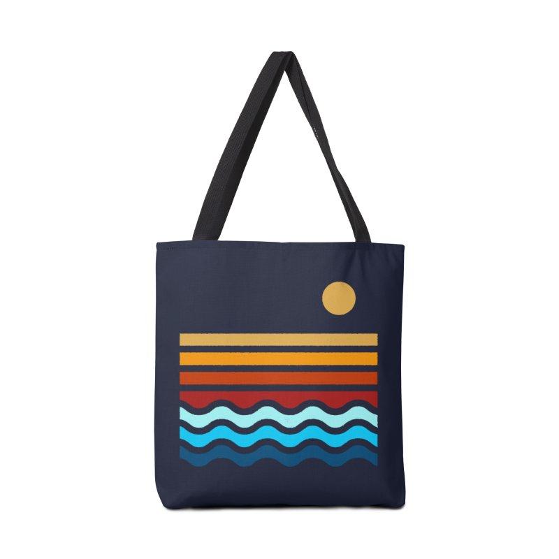 Beach Stack Accessories Bag by Threadless Artist Shop