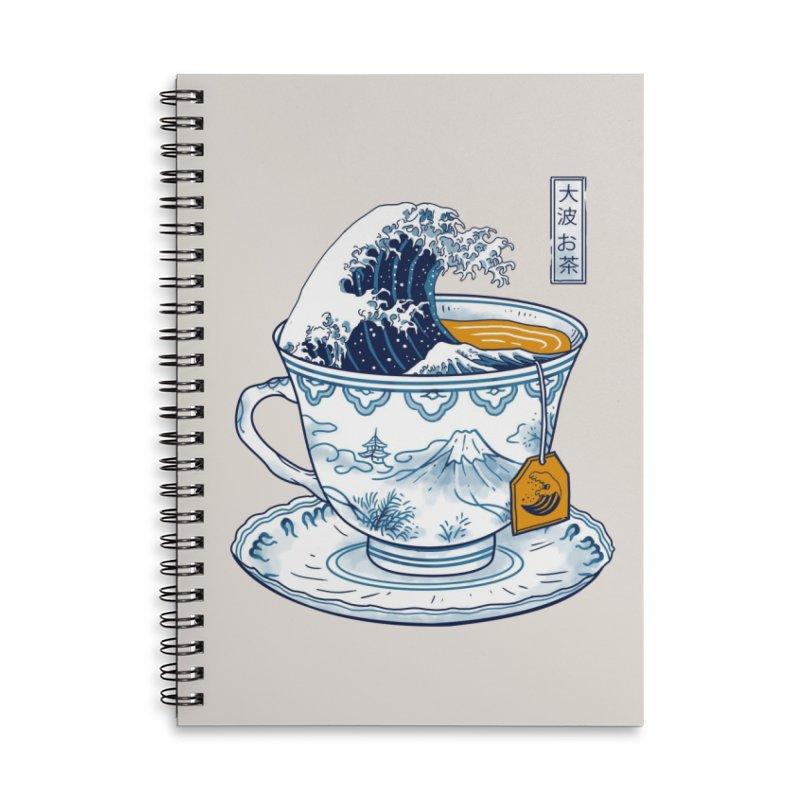 The Great Kanagawa Tee Accessories Notebook by Threadless Artist Shop