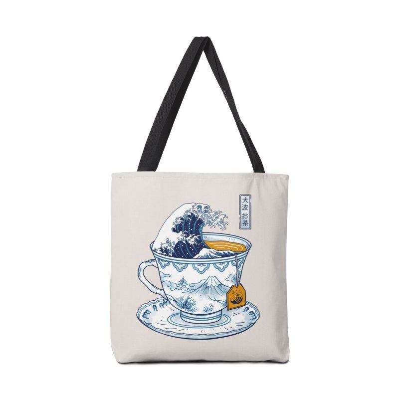 The Great Kanagawa Tee Accessories Bag by Threadless Artist Shop