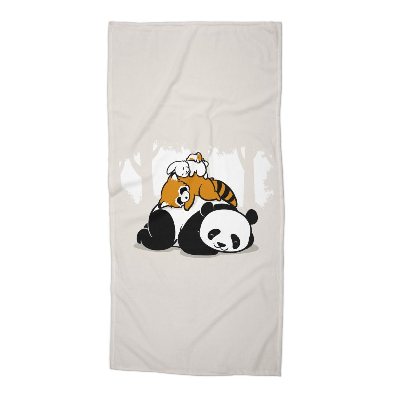 Comfy Bed Accessories Beach Towel by Threadless Artist Shop