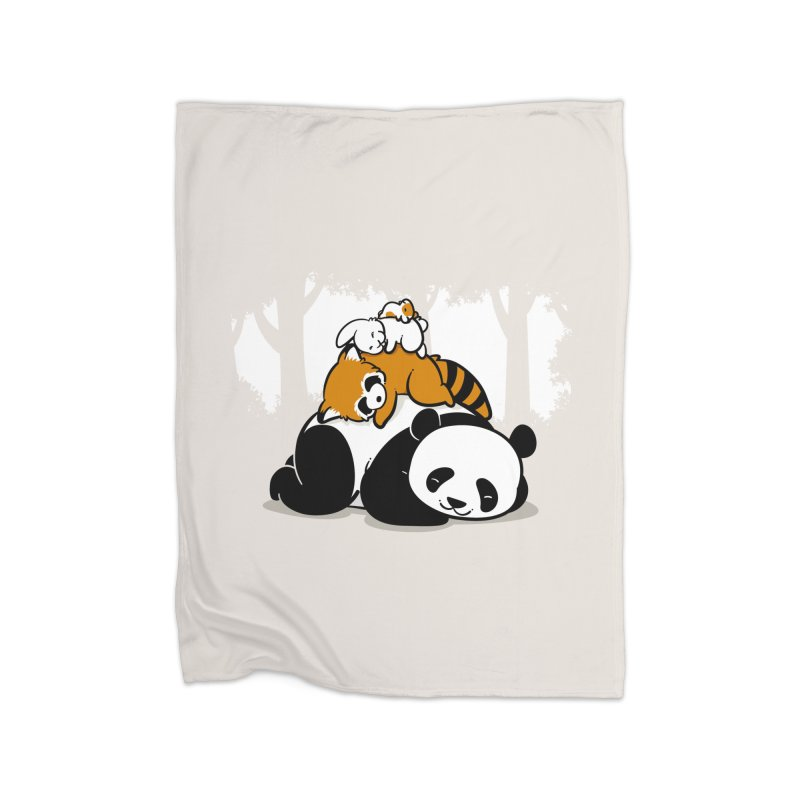 Comfy Bed Home Blanket by Threadless Artist Shop